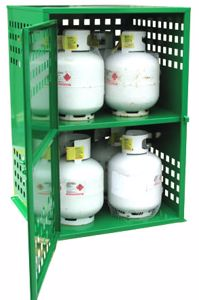 Picture of LPG Gas Bottle Storage 8 x 9kg