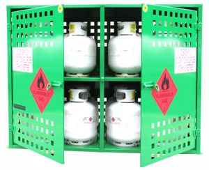 Picture of LPG Storage 16 x 9kg Gas Bottles