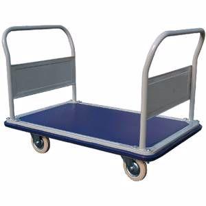 Picture of Huge Deck 4 Wheel Trolley 1160x760mm