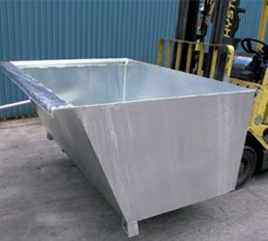 Picture of Forklift Self Dumping Bin 1.7m3 1000kg