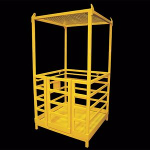Picture of 3 Person Crane Work Box with Roof Square